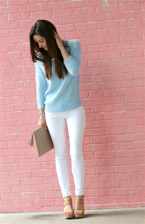 Permata Gigi Shine Made In Austria Gigi cozy and affordable periwinkle sweater with pairie jewels