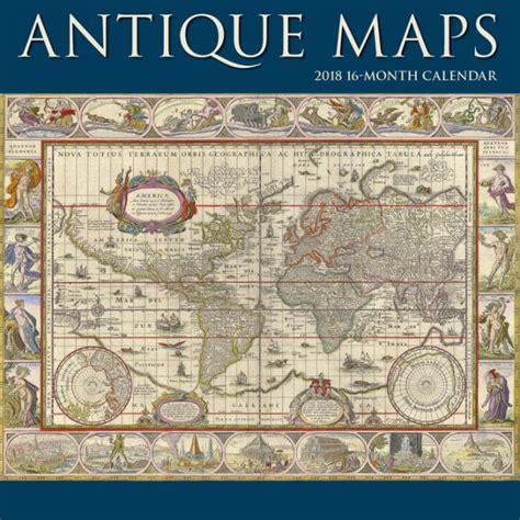 2018 Antique Maps Wall Calendar By Calendar Ink Calendar