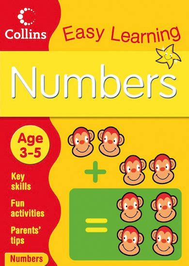 0008134200 collins easy learning age collins easy learning numbers ages 3 5 scholastic