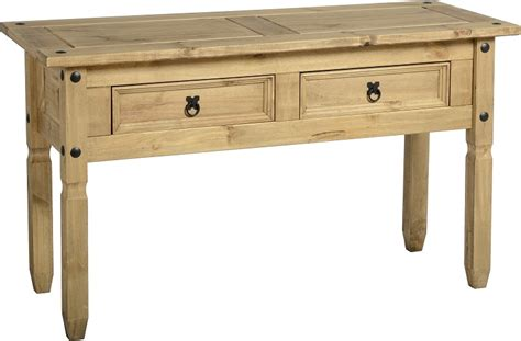 Table Corona by Corona Console Table Pine Console Table Flatpack2go Co Uk