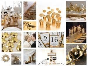 gold wedding theme winter gold wedding conceptwed