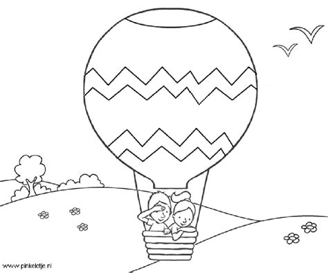 balloons coloring pages preschool hot air balloon coloring page free coloring pages for