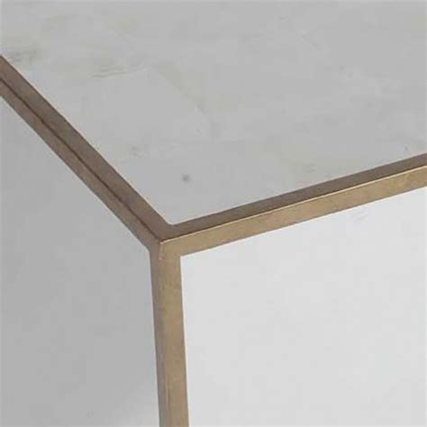 mirrored cube end table morris modern mirrored cube end table kathy kuo home