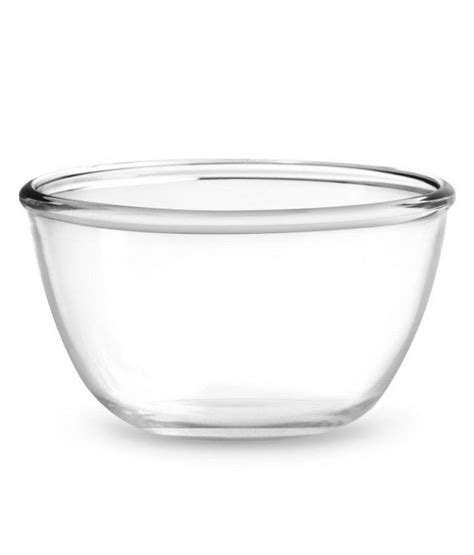 Tupperware Clear Bowl Set 2 treo mixing clear bowls available at snapdeal for rs 235