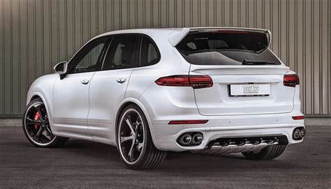cayenne porsche turbo techart porsche cayenne turbo powerkit