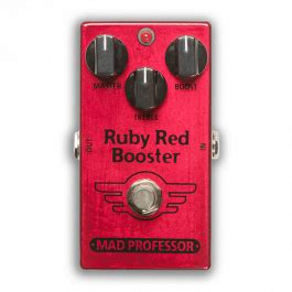 Booster X By Mad Prof ruby booster pedal by mad professor