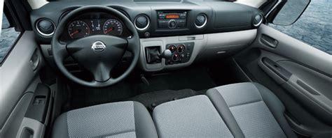 urvan nissan interior the all new nissan urvan nv350 comfort at its finest