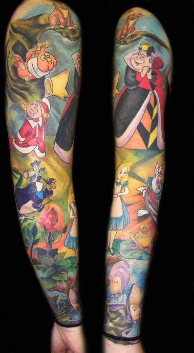 Tatuagens De Alice No Pa 237 S Das Maravilhas Tattoo Tatoos 7 Amazing Sleeves