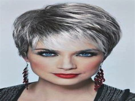 spike short women hair style 60 and over short spiky hairstyles for women over 60 23 with short