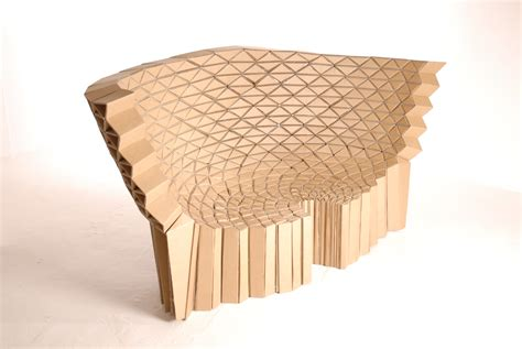 Inspired Home Interiors Cardboard Furniture From Lazerian Studio Despoke