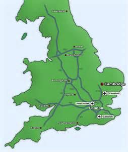 Cambridge England Map by Location Of Fitzwilliam College Fitzwilliam College
