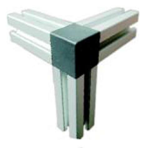 40 Square corner connection caps archives aluminium profile