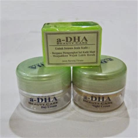 Krim Pemutih Wajah Dha a dha hijau pemutih wajah 62856 4800 4092 kosmetik pusat kosmetik kosmetik