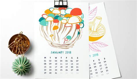 design blog calendar these 35 calendar ideas for 2018 will astonish you