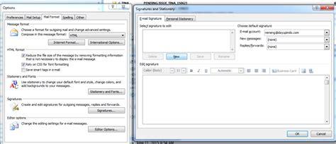 cara membuat email perusahaan di outlook cara memasang signature pada email outlook aneka