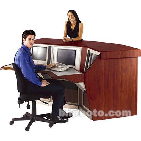 winsted reception desk model k8526 k8526 b h photo