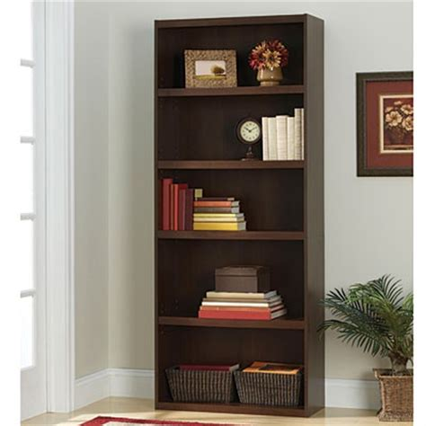 view ameriwood resort cherry finish 5 shelf bookcase