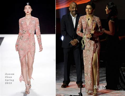 Catwalk To Carpet Naeem Khan Carpet Style Awards 2 by Deepika Padukone In Naeem Khan Macau Iifa