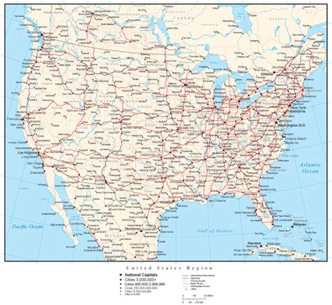 usa and canada highway map cities and states in usa travelquaz travelquaz