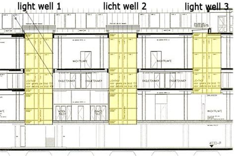 what is at section what is the difference between a lightwell and a skywell