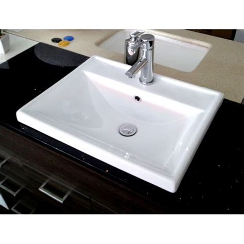 inset basins bathrooms tbo a382 inset bathroom basin