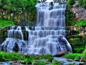 beautiful waterfalls january 2013 scenery backgrounds