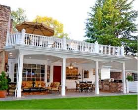 two story deck two story deck additions design ideas remodel pictures