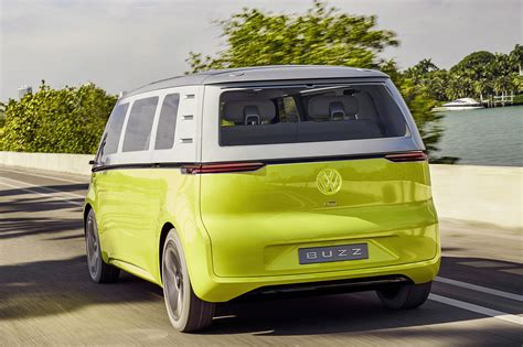 electric volkswagen van official all electric vw buzz cargo van confirmed for