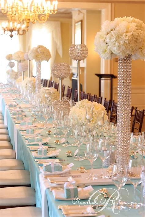 wedding table decor glamorous reception table decor