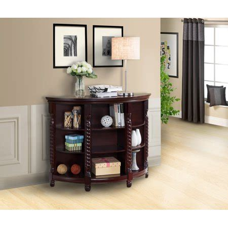 cherry sofa table with storage cherry wood entryway console sofa buffet table with