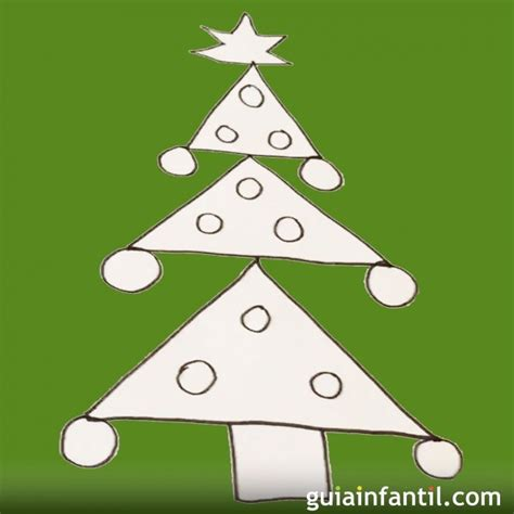 dibujos de navidad paso a paso dibujo de 225 rbol de navidad aprende a dibujar paso a paso
