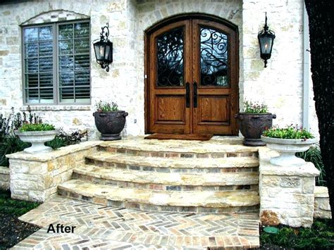 house steps design front door step cover best concrete steps ideas on