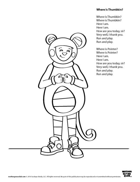 coloring book live coloring pages where is thumbkin live speakaboos worksheets