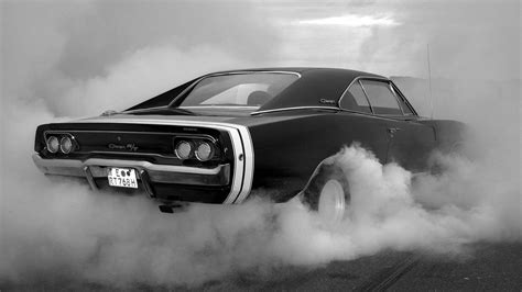 old school muscle cars wallpaper