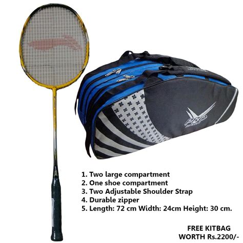 Raket Badminton Lining G Power 1800 I G Power 1800 I offer on li ning g power 1000 i badminton racket and
