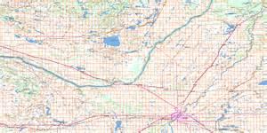 saskatoon topo map free nts 073b sk