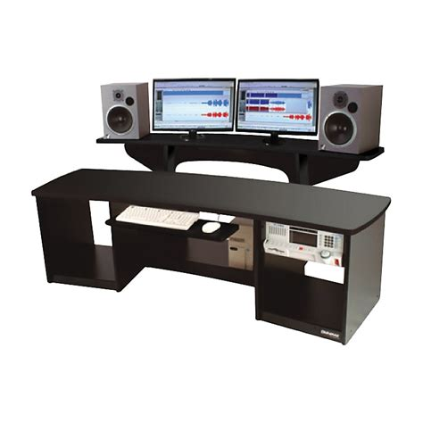used studio desk omnirax presto studio desk black 28 images omnirax