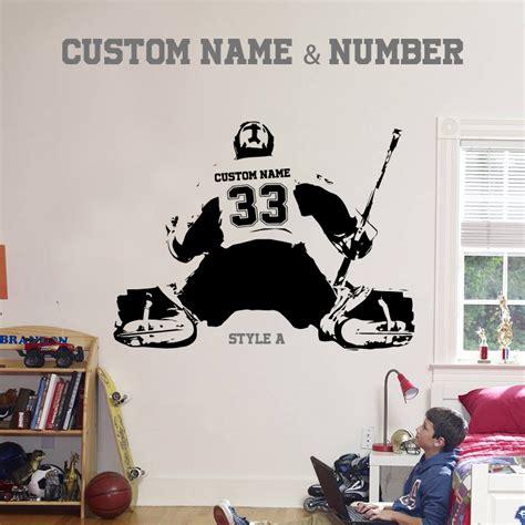 hockey wall stickers buy wholesale hockey wall stickers from china