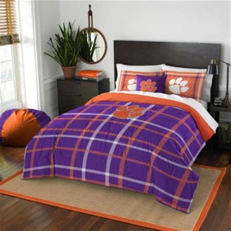 clemson bedding buy purple twin comforter sets from bed bath beyond