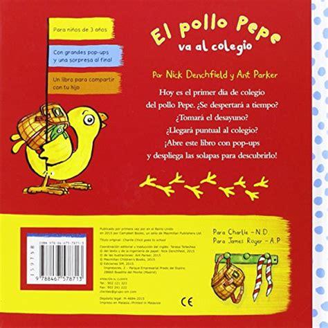 la cerdita clea penelope 8467524294 el pollo pepe va al colegio libri interattivi panorama