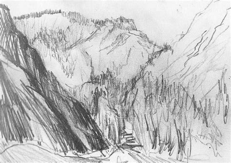 sketchbook pro 7 yosemite yosemite national park pencil drawing jpg 1133 215 799 no