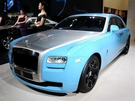 Baby Blue Rolls Royce by Rolls Royce Ghost Alpine Trial Centenary Collection Debuts