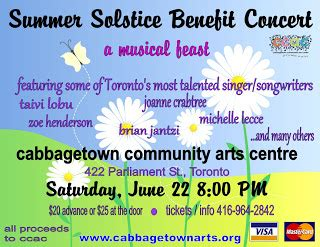 Ccac Calendar Cabbagetown Summer Festivals And Activities 2013