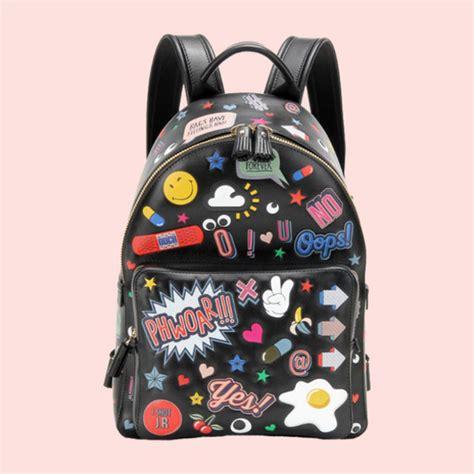 Update Devi Kroell Designer Handbags For Target by Bag Designer Bag Patch Pop Smiley Black Leather