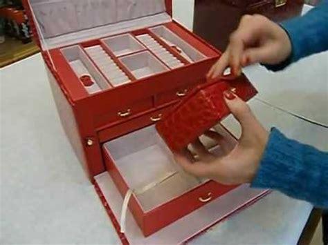 porta gioie carpisa portagioielli elegante con cassetti e cofanetto da viaggio