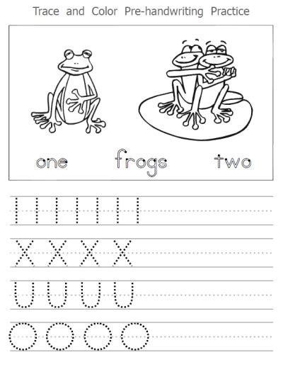 Motor Skills Handwriting Worksheets by Worksheets Home Education Resources