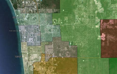 Collier County Search Collier County Schools Naples High School District Map Collier High School