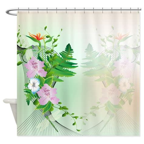 Beautiful Shower Curtains Designs Beautiful Summer Design Shower Curtain By Stylishdesign1