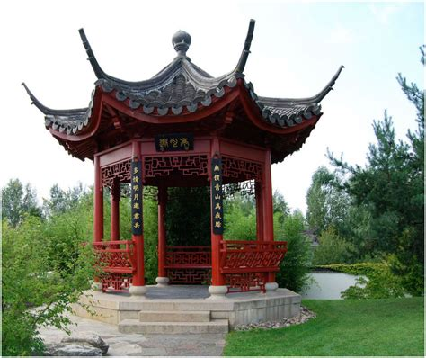 pavillon im garten bilder pavillon im quot chinesischen garten quot bild foto