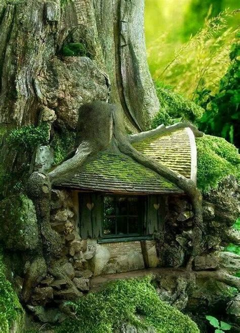 tree house enchanted forest greenscape pinterest